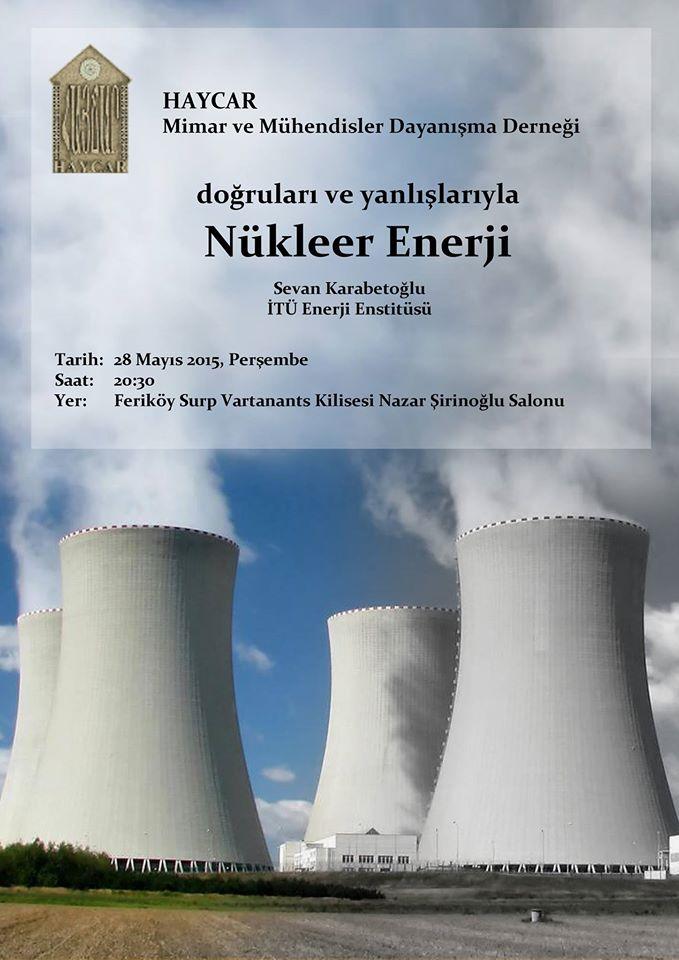 Dogrulari ve Yanlislariyla Nukleer Enerji  poster